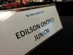 Edilson Osorio Junior - Palestrante - 1o Seminário sobre Moedas Digitais - FGV Direito SP
